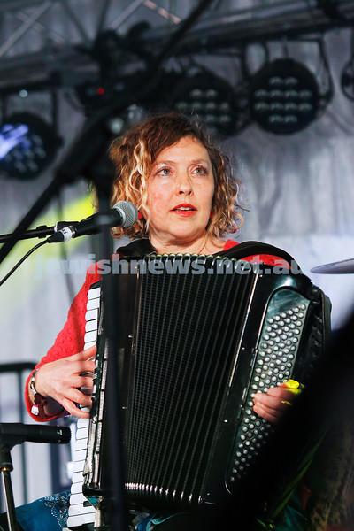 3-9-17. Shir Madness. Melbourne Jewish Music Festival.  Stiletto Sisters. Judy Gunson. Photo: Peter Haskin