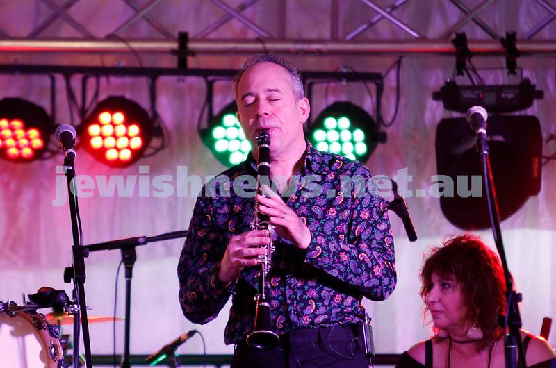 3-9-17. Shir Madness. Melbourne Jewish Music Festival.  Klezmania. Lionel Mrocki. Photo: Peter Haskin