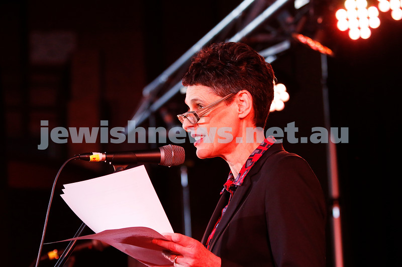 3-9-17. Shir Madness. Melbourne Jewish Music Festival. Deborah Coneway. Photo: Peter Haskin