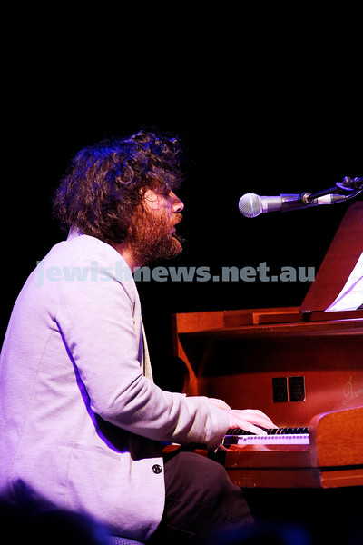 3-9-17. Shir Madness. Melbourne Jewish Music Festival.  Tal Cohen. Photo: Peter Haskin