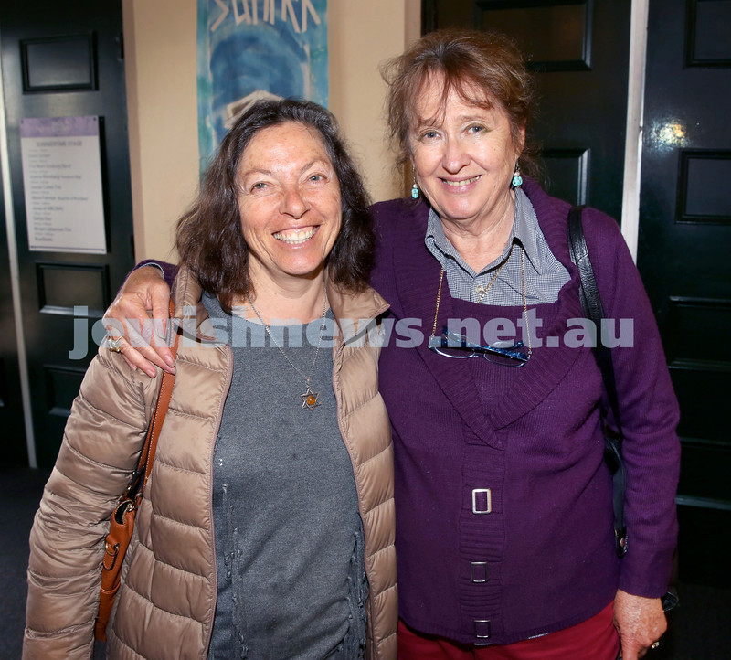 Shir Madness Jewish Music Festival at Bondi Pavilion. Michelle Brenner (left), Mary Richard. Pic Noel Kessel.