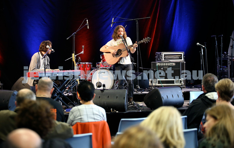Shir Madness Jewish Music Festival at Bondi Pavilion. The Bashevis Singers. Pic Noel Kessel.
