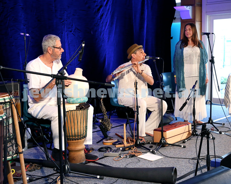 Shir Madness Jewish Music Festival at Bondi Pavilion. The Tree Of Life. Pic Noel Kessel.