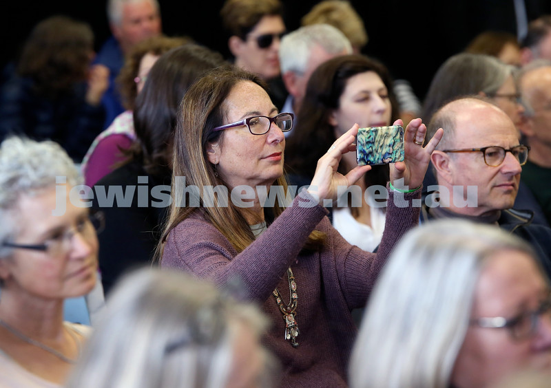 Shir Madness Jewish Music Festival at Bondi Pavilion. Crowd shot. Pic Noel Kessel.