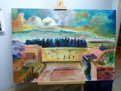 Kotel Painting