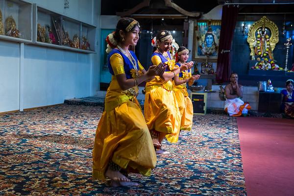 Shiva-Murugan Temple Performance 2017
