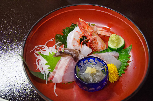 The artfully crafted traditional Japanese meal at a ryokan hotel