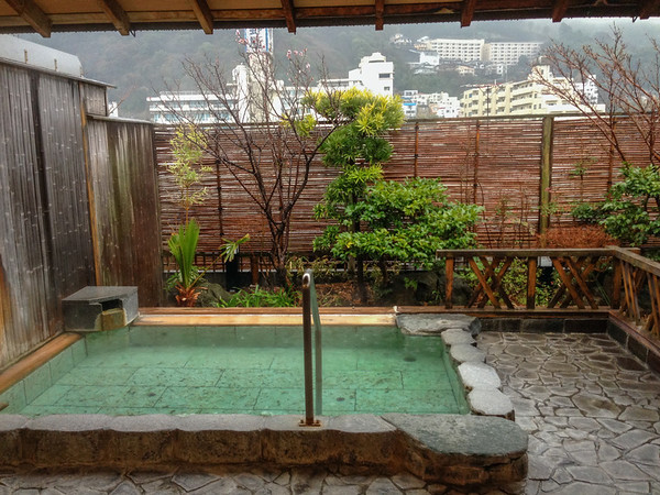 """Inside a traditional Japanese hot spring spa, called a """"onsen""""  Tips for Staying in a Ryokan and Onsen hot spring spa"""