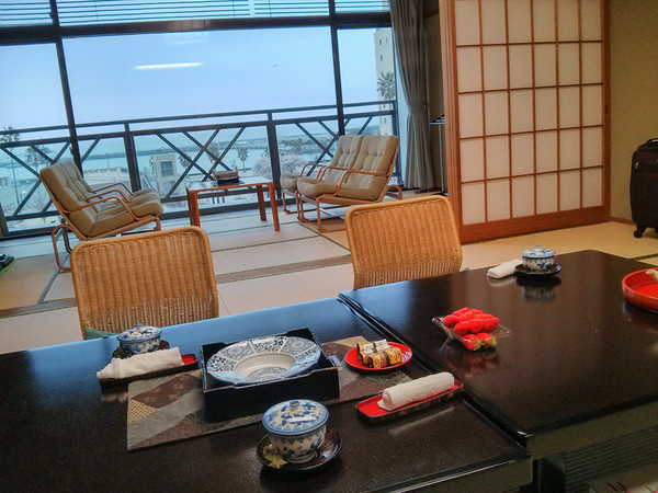 Inside a tradtional Japanese hotel| Tips for Staying in a Ryokan and Onsen hot spring spa
