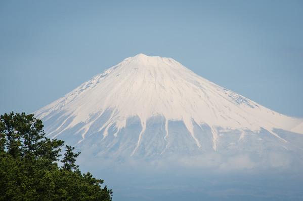Mount Fuji from Miho no Matsubara - Miho Pine Forest, Japan