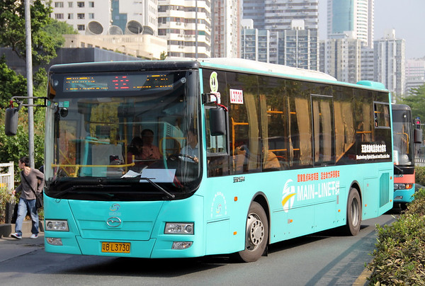 China : Shenzhen Buses and Coaches November 2011