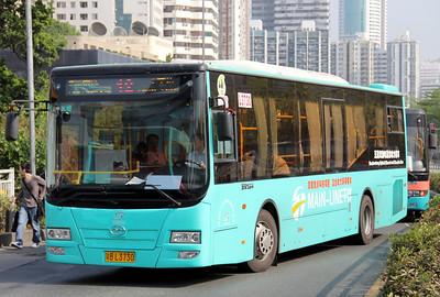 China : Shenzhen Buses and Coaches November 2011