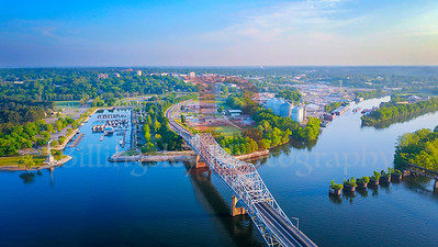 Bridge to Lauderdale County