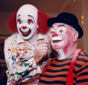 Mr. Borgnine truly loved being a clown!