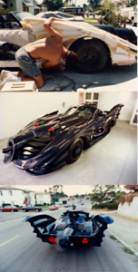 My good friend, Chris Canole,  built a Batmobile  - It was fun to drive to the coffee house in La Jolla.
