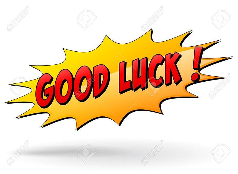 Vector good luck sign