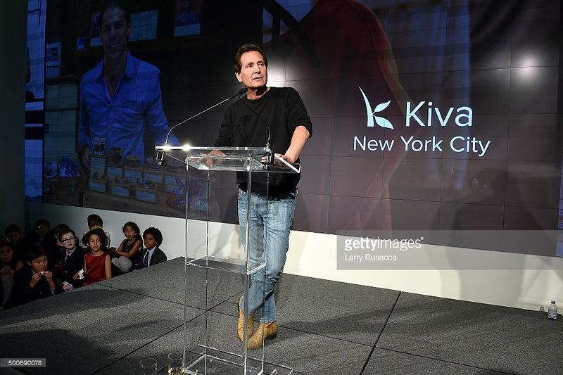 attends the Kiva NYC launch event at the IAC Building on December 9, 2015 in New York City.