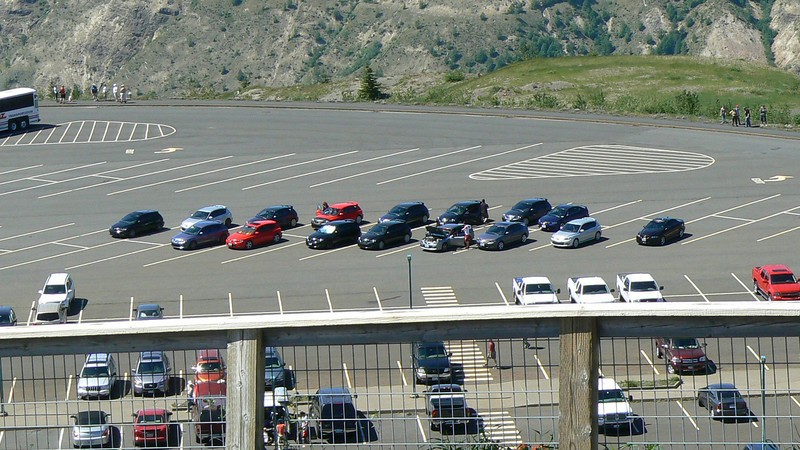 Those who hang out in the Northwest section of the Mazda3 forums, Mt. St. Helen's, early summer 2008. This was the first time I went driving with any of these guys. It was fun and I've been a regular since.