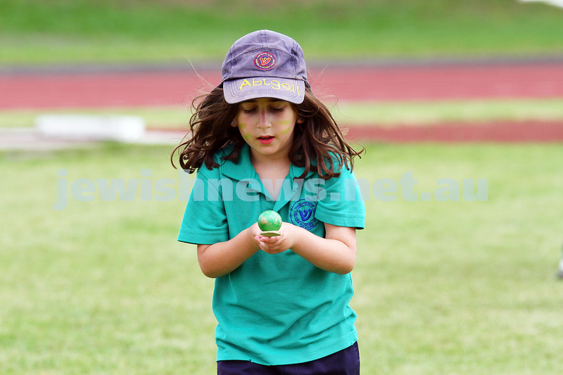11-12-14. Sholem Aleichem sports day at Duncan McKinnon athletics track.  Photo: peter haskin
