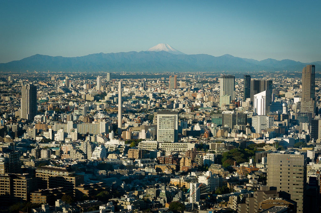 Viewing Mt Fuji