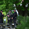 """Police patrol Central Park after a shooting on Sunday afternoon. A man reportedly fired shots then pointed his weapon at Boulder police who shot him. <br /> More photos:  <a href=""""http://www.dailycamera.com"""">http://www.dailycamera.com</a><br /> Autumn Parry/Staff Photographer<br /> May 22, 2016"""