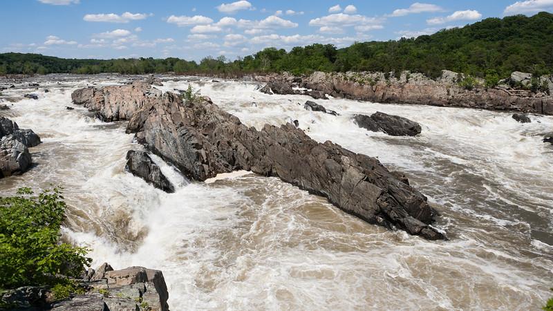Great Falls, Va (Potomac River). Memorial Day Weekend, 2014. Digital.