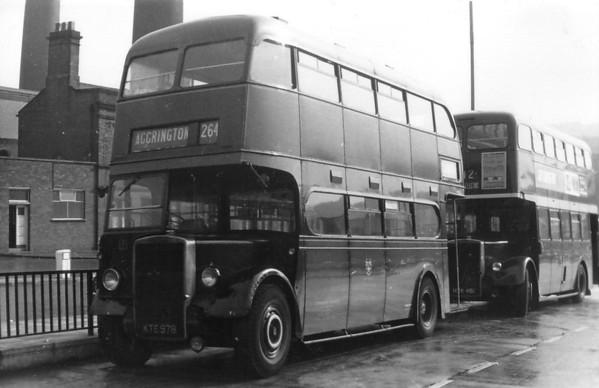Accrington Corporation 121 Burnley [jh]