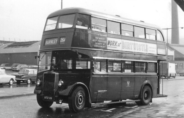 Accrington Corporation 127 Burnley [jh]