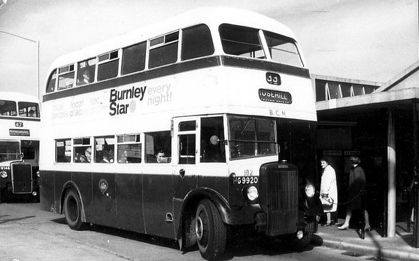 Burnley & Pendle 182 660603 Burnley Bus Station [jh]
