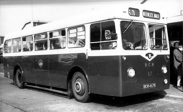 Burnley & Pendle 067 660603 Burnley Bus Station [jh]