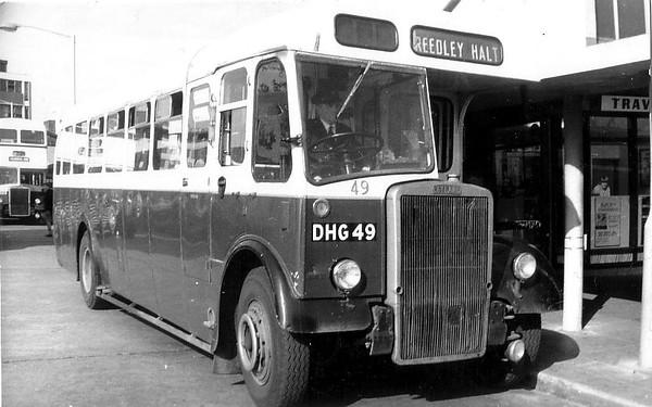 Burnley & Pendle 049 660603 Burnley Bus Station [jh]