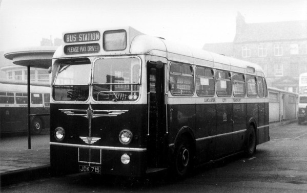 Lancaster City Transport 715 Bus Station [jh]