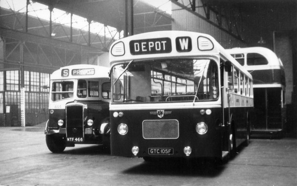 Lancaster City Transport 105 Kingsway Depot [jh]