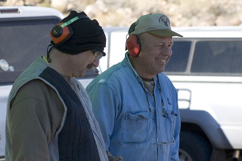 Ron Swor and Ron Frey