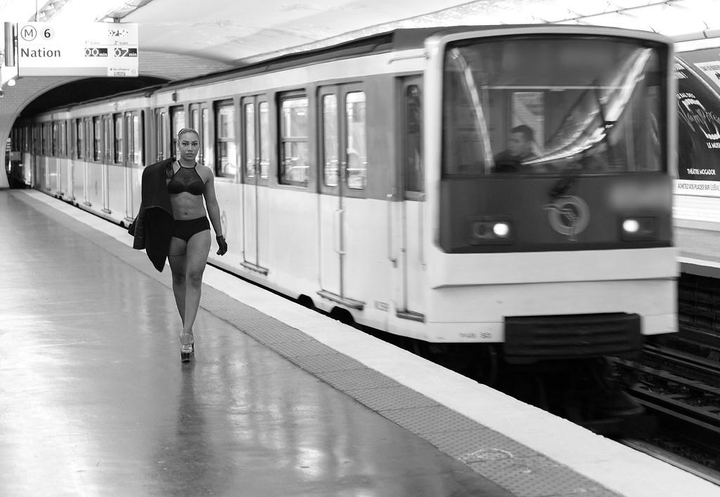Modèle : Shante <br /> Métro Parisien