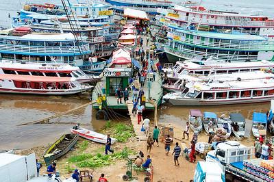 Manaus wharf, Brazil