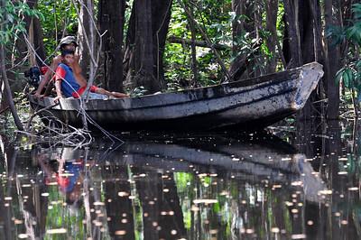 Amazonia fishermen