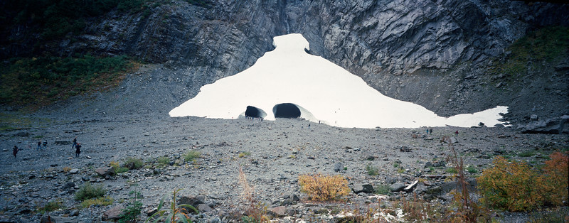 Last of the Big 4 Ice Cave Before Winter