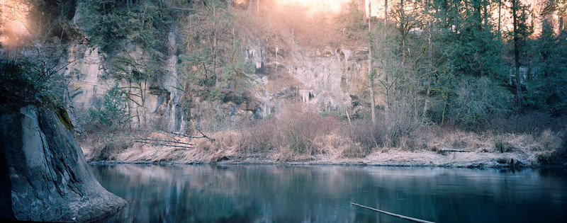 Green River Canyon Ice Fall