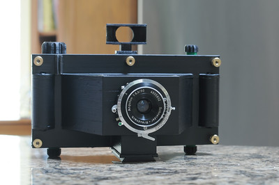 6x14 Panoramic Camera with Schneider Angulon 90 mm 6.8