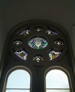 Stain Glass Window, 3rd Floor