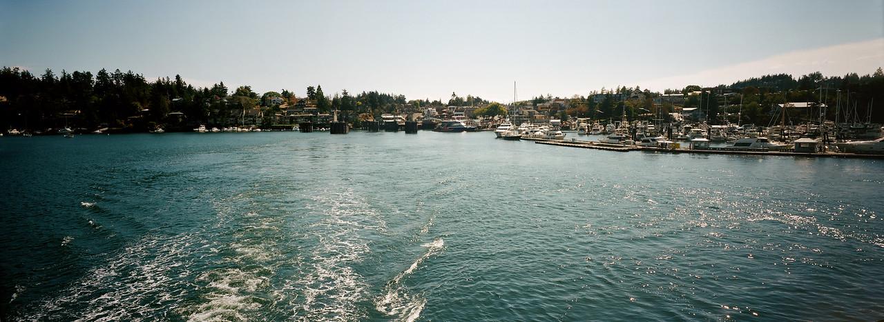 Leaving Friday Harbor
