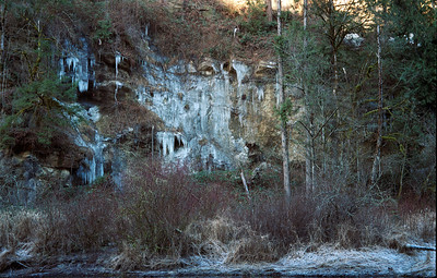 Grean River Canyon Icefall