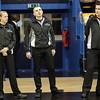 Vienna, Austria, 16.Oct.2015 - BASKETBALL - ABL, Admiral Basketball League, BC Hallmann Vienna vs. UBSC Raiffeisen Graz. Image shows referees. Foto: GEPA Pictures / Gerald Fischer