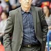 Vienna, Austria, 16.Oct.2015 - BASKETBALL - ABL, Admiral Basketball League, BC Hallmann Vienna vs. UBSC Raiffeisen Graz. Image shows Coach Peter Stahl (UBSC Raiffeisen Graz). Foto: GEPA Pictures / Gerald Fischer