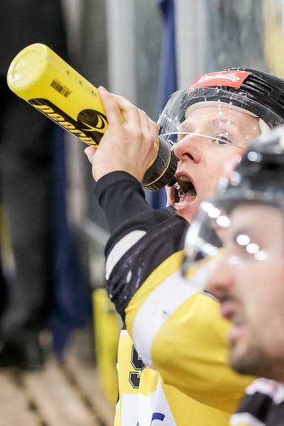 Vienna, Austria, 13.Oct.2015 - EBEL, Erste Bank Eishockey Liga, UPC Vienna Capitals vs. EC Red Bull Salzburg in Albert Schultz Halle. Image shows Simon Gamache (UPC Vienna Capitals). Foto: GEPA Pictures / Gerald Fischer