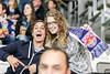 Vienna, Austria, 13.Oct.2015 - EBEL, Erste Bank Eishockey Liga, UPC Vienna Capitals vs. EC Red Bull Salzburg in Albert Schultz Halle. Image shows Red Bull Salzburg fans. Foto: GEPA Pictures / Gerald Fischer