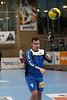 3. 10. 2015 - Handball - HLA, Handball Liga Austria, HC Fivers Margareten vs HC ece bulls Bruck  in Sporthalle Margareten, Vienna, Austria . Image shows Markus Jantscher (HC ece bulls Bruck) .Foto: GEPA Pictures / Gerald Fischer