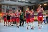 3. 10. 2015 - Handball - HLA, Handball Liga Austria, HC Fivers Margareten vs HC ece bulls Bruck  in Sporthalle Margareten, Vienna, Austria . Image shows Team Fivers Margareten .Foto: GEPA Pictures / Gerald Fischer