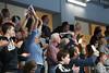 3. 10. 2015 - Handball - HLA, Handball Liga Austria, HC Fivers Margareten vs HC ece bulls Bruck  in Sporthalle Margareten, Vienna, Austria . Image shows fans .Foto: GEPA Pictures / Gerald Fischer